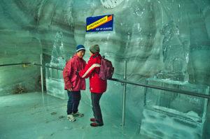 El museu d'escultures de gel
